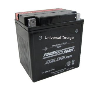 Power Sonic Sealed Maintenance Free Battery for Suzuki LT-A500F QuadMaster 2000-2001