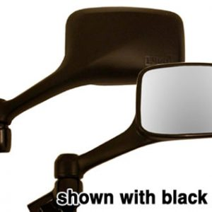 EMGO Replacement Mirror (Carbon Look) forKawasaki EX250R NINJA 1996-2007 Left Side