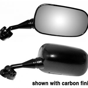 EMGO Replacement Mirror (Carbon Look) forHonda CBR929R 2000-2001 Left Side