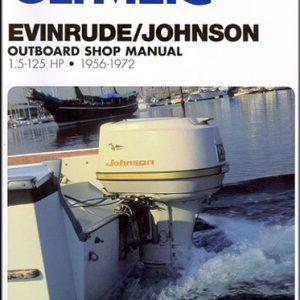 Clymer Repair Manual for Evin/Jhnsn 1.5-125 HP OB 1956-1972
