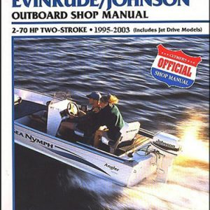 Clymer Repair Manual for Evin/Jhsn 2-70 1995-2003