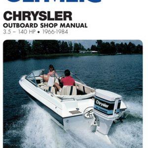 Clymer Repair Manual for Chry 3.5-140 HP OB 1966-1984