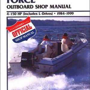 Clymer Repair Manual for Force OB 4-150HP & L-Drv 1984-1999
