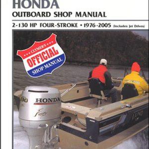 Clymer Repair Manual for Hon 4-Stroke OB 1976-2005