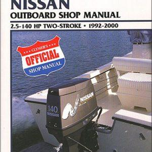 Clymer Repair Manual for Nissa 2-Stroke OB 1992-2000