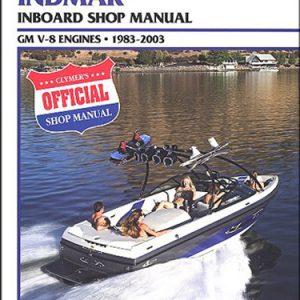 Clymer Repair Manual for Indmar GM v-8 IB 1983-2003