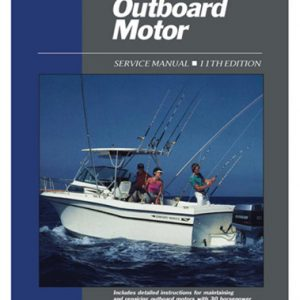 Clymer Repair Manual for Outboard Motor Svc Vol 2 1969-1989