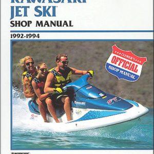 Clymer Repair Manual for Kawasaki Jet Ski 1992-1994