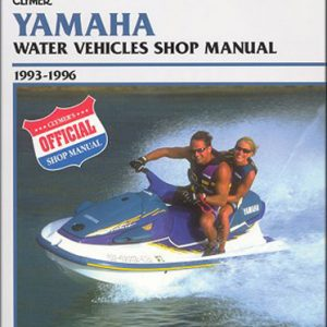 Clymer Repair Manual for Yamaha Personal Watercraft 1993-1996