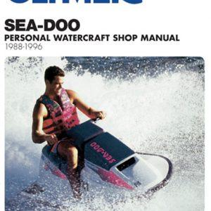 Clymer Repair Manual for Sea-Doo Water Vehicles 1988-1996