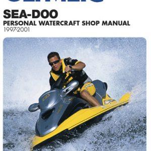 Clymer Repair Manual for Sea-Doo Water Vehicles 1997-2001