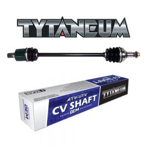 Tytaneum OE STYLE REAR LEFT REPLACEMENT CV AXLE FOR JOHN DEERE RSX 850i Gator 2012-2015