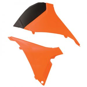 Acerbis Air Box Covers KTM Orange for KTM 125 SX 2012