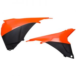 Acerbis Air Box Covers 16 KTM Orange/Black for KTM 125 SX 2013-2015