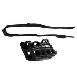 Acerbis Chain Guide and Slider Kit 2.0 Black for Honda CRF250R 2010-2013