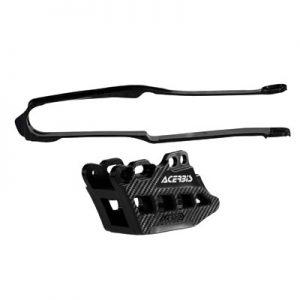 Acerbis Chain Guide and Slider Kit 2.0 Black for Honda CRF250R 2014-2017