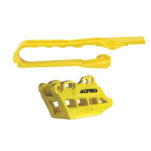 Acerbis Chain Guide and Slider Kit 2.0 Yellow for Suzuki RMZ250 2010-2018