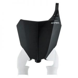 Acerbis Raptor Front Number Plate Black/White for Honda CRF250R 2018
