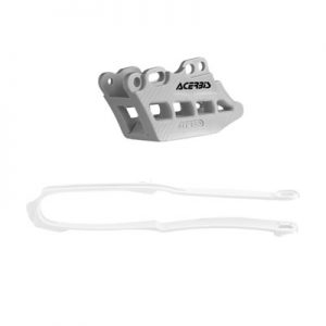 Acerbis Chain Guide and Slider Kit 2.0 White for Honda CRF250R 2018