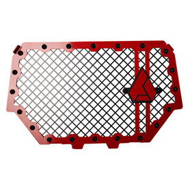 Assault Industries Hellfire V2 Front Grill Red for Polaris RANGER RZR 900 TRAIL 2015-2018