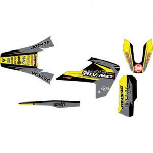 Attack Graphics Custom Roost Full Trim Kit Black/Dark Grey for Husqvarna FC 250 2014-2018