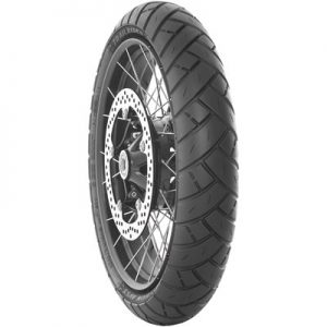 120/70ZR-17 (58W) Avon Trailrider AV53 Dual Sport Front Motorcycle Tire for Aprilia Caponord 1200 ABS 2014-2016