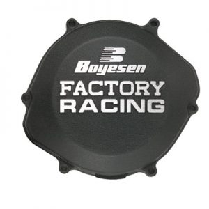 Boyesen Clutch Cover Black for Kawasaki KX250F 2009-2018