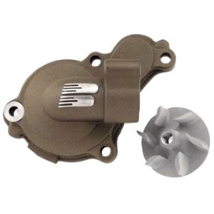 Boyesen Supercooler Water Pump Cover and Impeller Kit Magnesium for Yamaha YZ450F 2010-2013