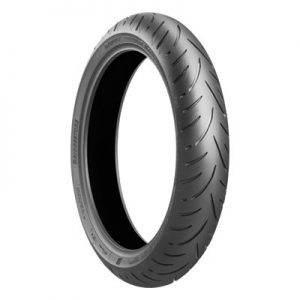 120/70ZR-17 (58W) Bridgestone Battlax Sport Touring T31 Front Motorcycle Tire for Aprilia Caponord 1200 ABS 2014-2016