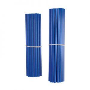 Bykas Dirt Bike Spoke Wraps Blue for Aprilia ETV 1000 Caponord 2002-2007