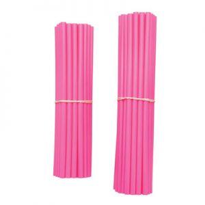 Bykas Dirt Bike Spoke Wraps Pink for Aprilia ETV 1000 Caponord 2002-2007