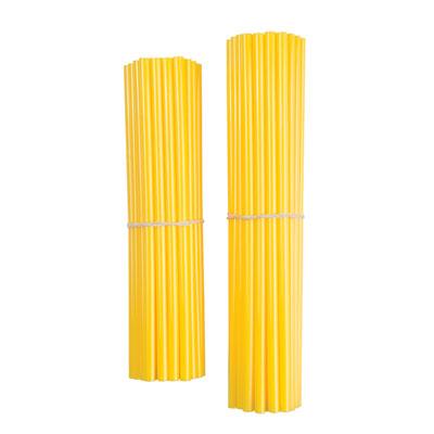 Bykas Dirt Bike Spoke Wraps Yellow for Aprilia ETV 1000 Caponord 2002-2007