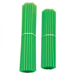 Bykas Dirt Bike Spoke Wraps Neon Green for Aprilia ETV 1000 Caponord 2002-2007