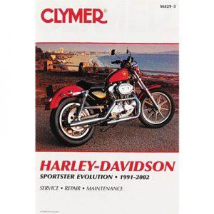 Clymer Repair Manuals for Harley-Davidson Sportster 1100 Standard XL1100 1986-1987