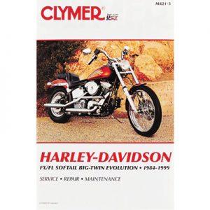 Clymer Repair Manuals for Harley-Davidson Softail Bad Boy FXSTSB 1995-1997