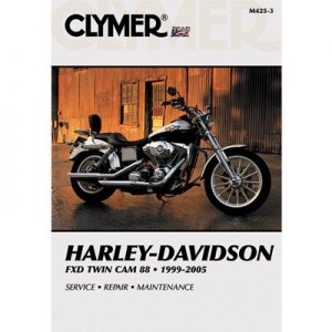 Clymer Repair Manuals for Harley-Davidson CVO Dyna Wide Glide FXDWGSE 2001-2002