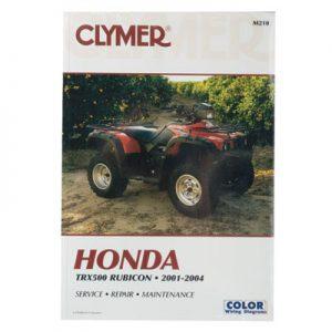 Clymer Repair Manuals for Honda RUBICON 500 4X4 2001-2004