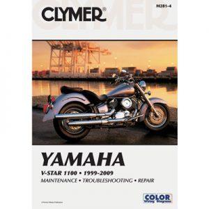 Clymer Repair Manuals for Yamaha V-Star Classic XVS1100A 2000-2009