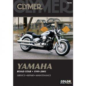 Clymer Repair Manuals for Yamaha Road Star Midnight Silverado XV1700ATM 2004-2007