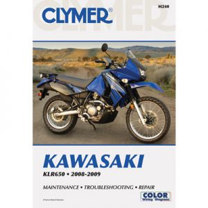 Clymer Repair Manuals for Kawasaki KLR650 2008-2018