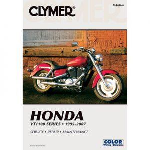 Clymer Repair Manuals for Honda Shadow 1100 ACE Tour VT1100T 1998-2000