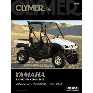 Clymer Repair Manuals for Yamaha RHINO 700 FI 4×4 Auto 2008-2009