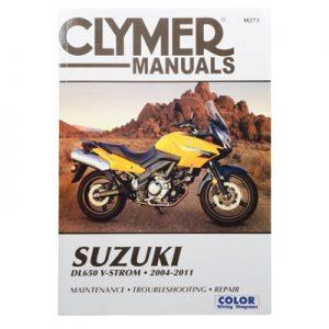Clymer Repair Manuals for Suzuki V-Strom 650 (ABS) DL650A 2007-2009