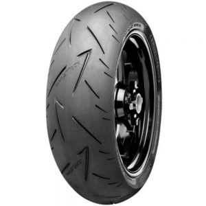 150/70ZR-17 (69W) Continental ContiRoad Attack 2 Hypersport Touring Radial Rear Motorcycle Tire for Aprilia ETV 1000 Caponord 2002-2007