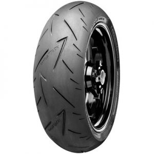 200/55ZR-17 (78W) Continental Sport Attack 2 Hypersport Radial Rear Motorcycle Tire for Aprilia RSV4 1000 APRC R ABS 2013-2015
