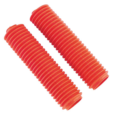 "Daystar Fork Boots ""69"" Series Red for Honda CR125R 1983-1989"