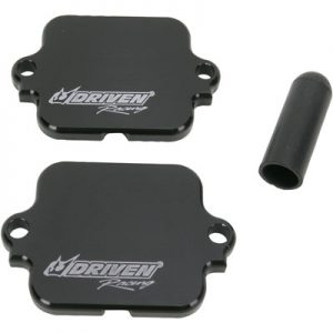 Driven Racing Engine Block-Off Plate Black for Honda CB919F (Hornet) 2002-2007