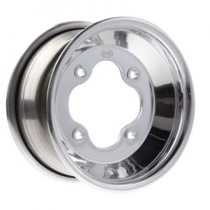 4/156 ITP .190 A-6 Grand Prix Wheel 10X5 4.0 + 1.0 Polished for KTM 450 SX 2009-2010