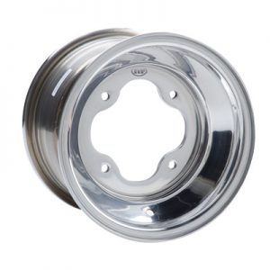 3/120 ITP .190 A-6 Pro Series Wheel 8×7 3.0 + 4.0 Polished for Kawasaki KFX 80 2003-2006