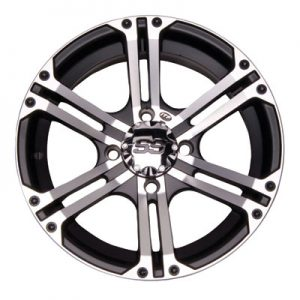 4/115 ITP SS212 Alloy Series Wheel 14×6 4.0 + 2.0 Machined for Arctic Cat 1000 LTD 2012